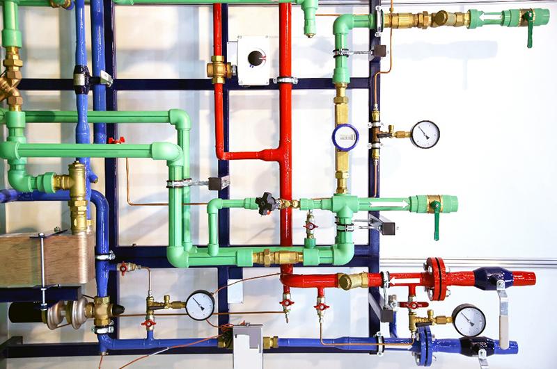 Installation système de plomberie